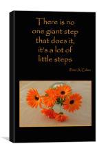 Little Steps, Canvas Print