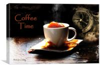 Coffee Time, Canvas Print