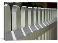 Picket Fence, Canvas Print