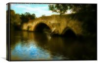 Aylesford Bridge, Canvas Print