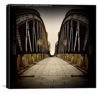 Iron Bridge, Canvas Print