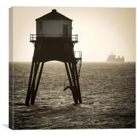 Dovercourt Lighthouse., Canvas Print