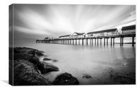 Southwold Pier Long Exposure, Canvas Print