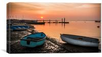 Orford Quay, Canvas Print