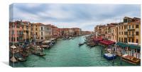 Il Canal Grande di Venezia, Canvas Print