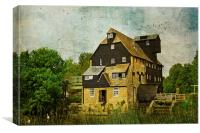 Houghton Mill, Canvas Print