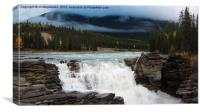 Athabasca Falls, Canvas Print