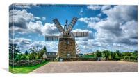 Heage Windmill Watercolour