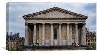 Birmingham Town Hall, Canvas Print