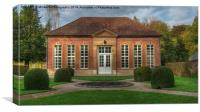 The Orangery, Canvas Print