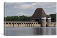 Moehne Reservoir, Canvas Print