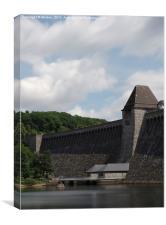 Moehne Dam, Canvas Print
