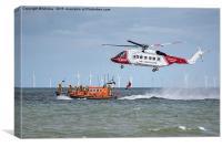 Rhyl Air Sea Rescue, Canvas Print