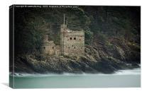 Kingswear Castle Devon, Canvas Print