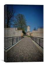 To The Sparrenburg, Canvas Print