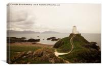 Tŵr Mawr Lighthouse, Canvas Print