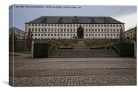 Friedenstein Palace, Canvas Print