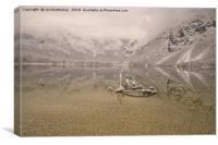 Lake Bohinj Reflection, Canvas Print