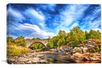 Oykel Bridge, Canvas Print