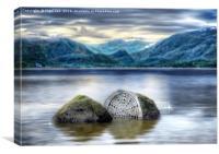 100yr Stone - Derwent Water, Canvas Print