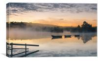 Knapps Loch Sunrise, Canvas Print
