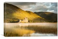 Golden Kilchurn Castle, Canvas Print
