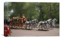Royal Coach, Canvas Print