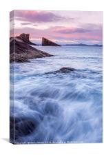 Clachtoll Bay, Sutherland., Canvas Print