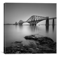 The Forth Rail Bridge, South Queensferry., Canvas Print
