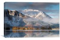 Beinn Bhan, Ballachulish., Canvas Print