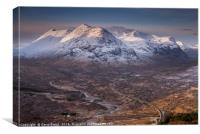 Glencoe, Scotland., Canvas Print