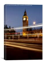 Big ben of london, Canvas Print