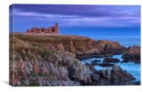 Slains Castle, Canvas Print