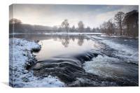 Winter Chill, Canvas Print