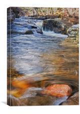 Quoich Water, Canvas Print