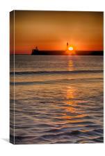 Aberdeen Sunrise, Canvas Print