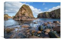 Bullers of Buchan, Canvas Print