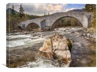 The Old Bridge of Dee, Canvas Print