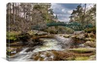 Ballochbuie Bridge, Canvas Print