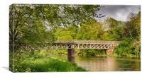Grandholm Bridge, Canvas Print