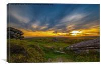 Dartmoor Gold, Canvas Print