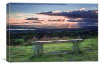Estuary Sunset, Canvas Print