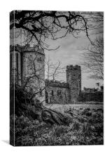 Torre Abbey Torquay, Canvas Print