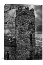 East Wall Tower, Canvas Print