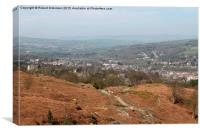 On ilkley Moor Bah'tat, Canvas Print