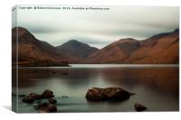Wastwater Lake Sunset, Canvas Print