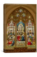 Above the Alter, Canvas Print