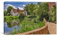 Willy Lotts cottage, Canvas Print