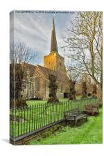 Church View, Canvas Print