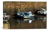 Crail Harbour, Fife, Canvas Print